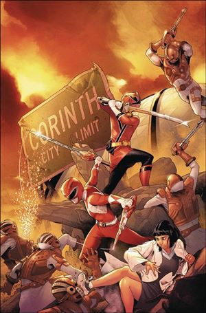 Mighty Morphin Power Rangers 27-A