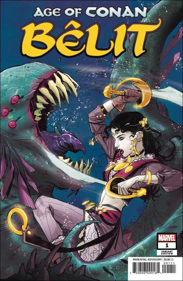 Age of Conan: Belit 1-E by Marvel