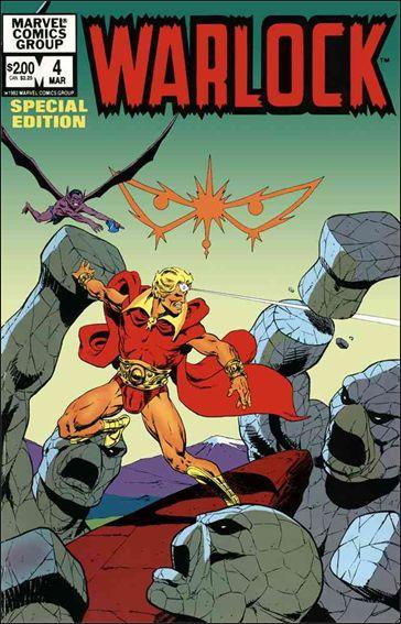 Warlock (1982) 4-A by Marvel