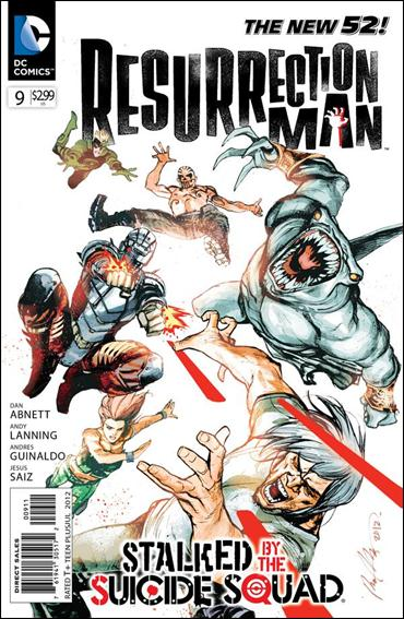 Resurrection Man (2011) 9-A by DC