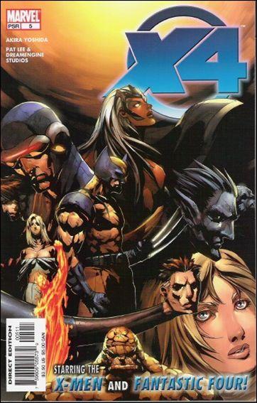 X-Men/Fantastic Four 5-A by Marvel