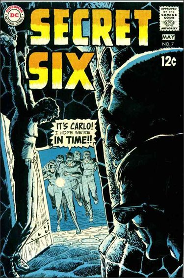 Secret Six (1968) 7-A by DC