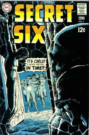 Secret Six (1968) 7-A