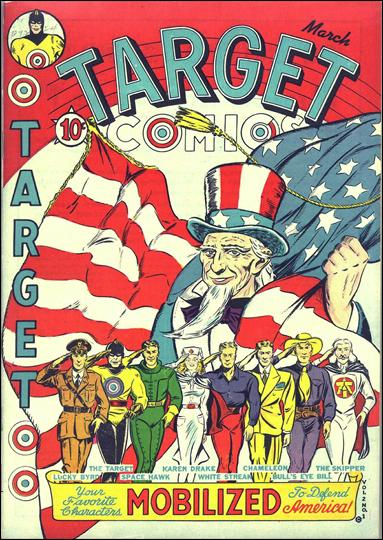 Target Comics (1941) 1-A by Novelty Press