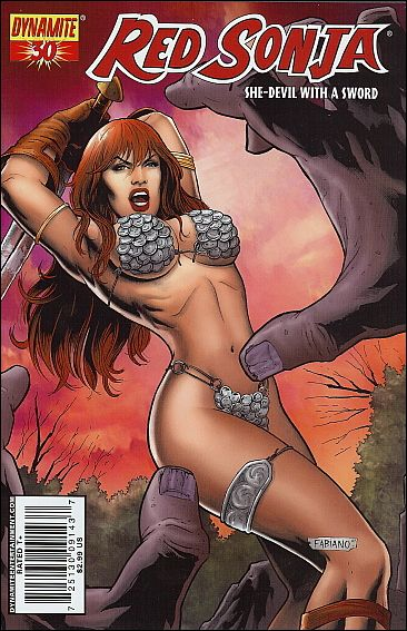 Red Sonja 30-B by Dynamite Entertainment