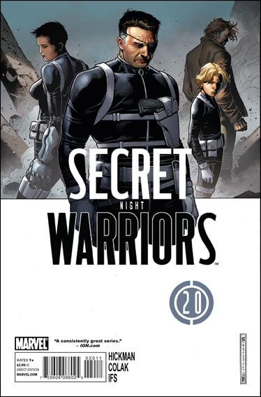 Secret Warriors 20-A by Marvel