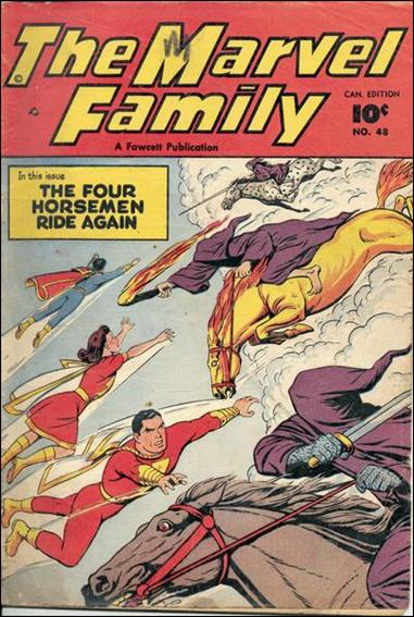 Marvel Family 48-A by Fawcett