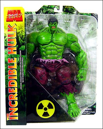 Marvel Select Incredible Hulk by Diamond Select