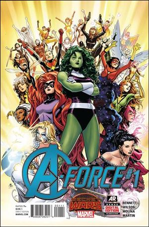 A-Force (2015) 1-A