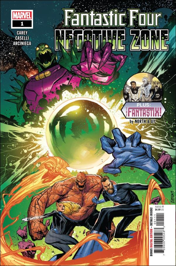 Fantastic Four: Negative Zone 1-A by Marvel