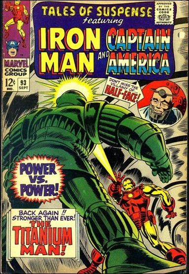 Tales of Suspense (1959) 93-A by Marvel