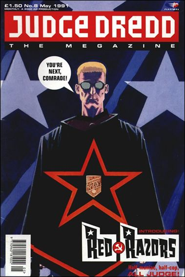 Judge Dredd Megazine (1990) 8-A by Fleetway