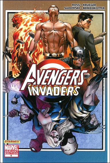 Avengers/Invaders 6-B by Marvel