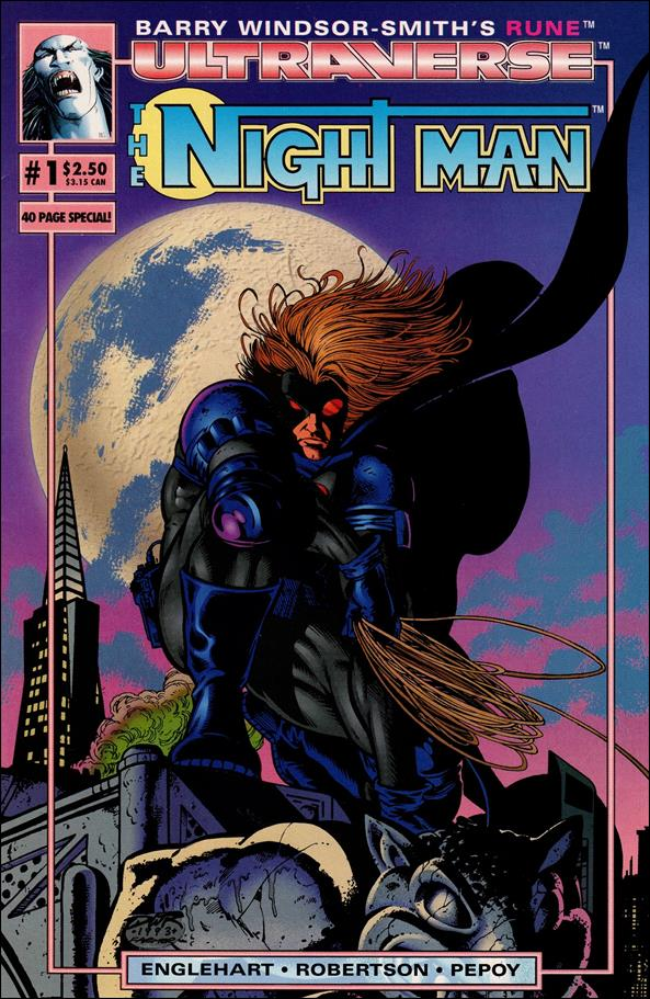 Night Man (1993) 1-A by Malibu