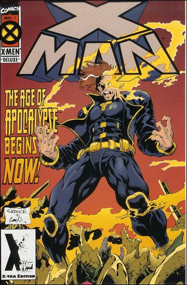 X-Man 1-B by Marvel