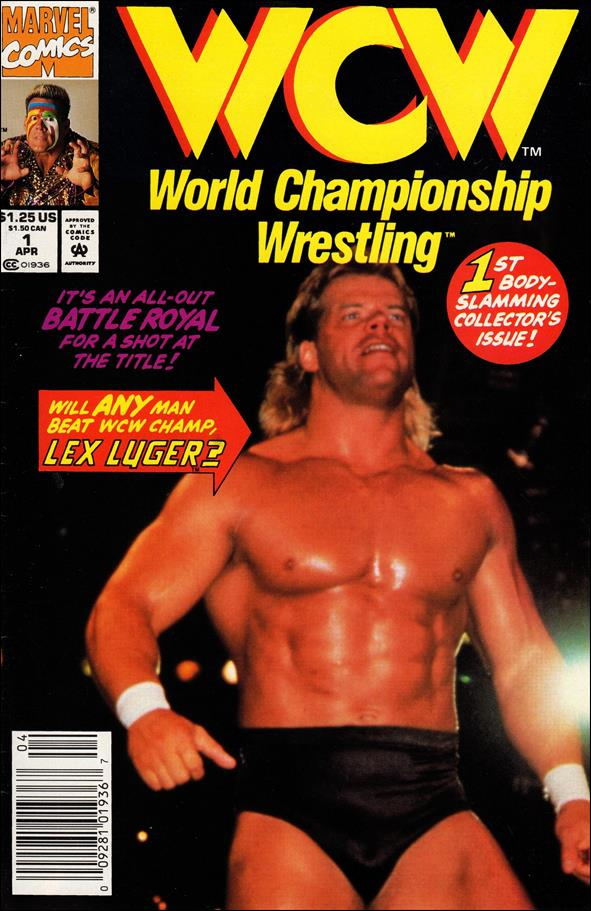 WCW: World Championship Wrestling 1-A by Marvel