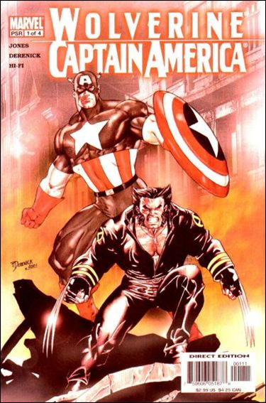 Wolverine/Captain America 1-A by Marvel