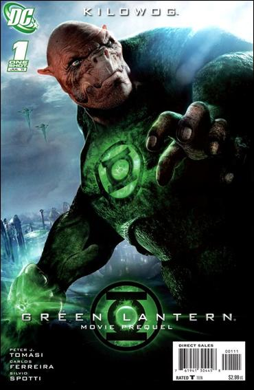 Green Lantern Movie Prequel: Kilowog 1-A by DC