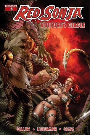Red Sonja: Vulture's Circle 5-A