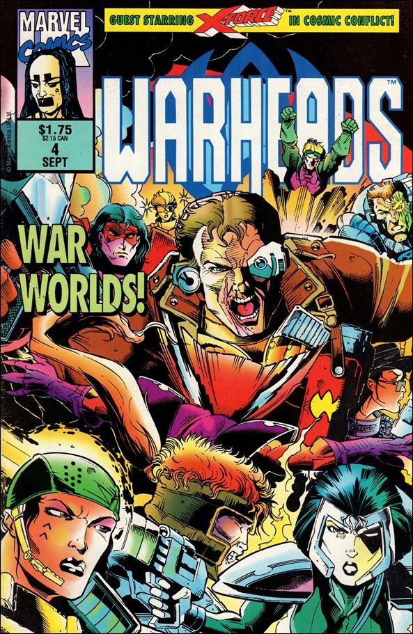 Warheads (UK) 4-A by Marvel UK