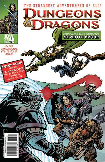 Dungeons & Dragons 7-C by IDW