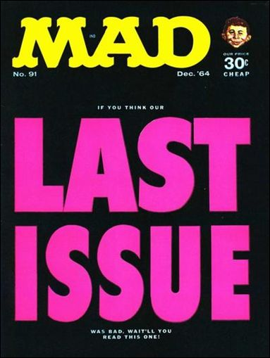 MAD (1955) 91-A by DC
