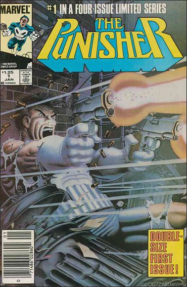 Punisher (1986) 1-A by Marvel