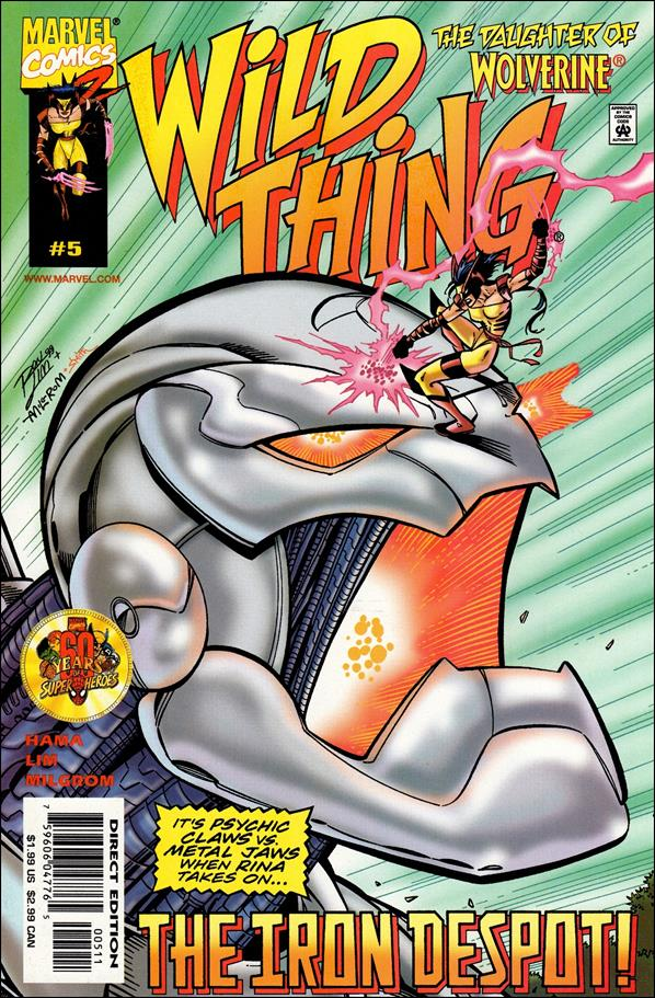 Wild Thing 5-A by Marvel