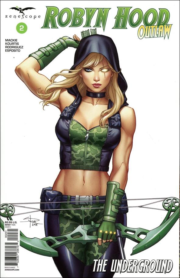 Robyn Hood: Outlaw 2-C by Zenescope Entertainment