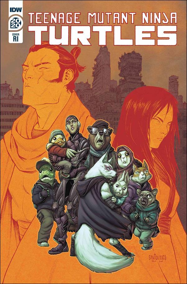 Teenage Mutant Ninja Turtles Annual 2020-C by IDW
