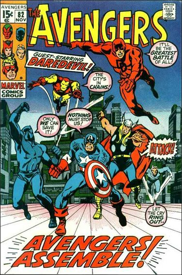 Avengers (1963) 82-A by Marvel