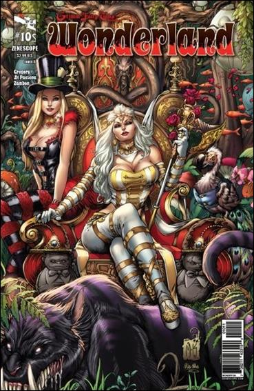 Grimm Fairy Tales Presents: Wonderland 10-A by Zenescope Entertainment