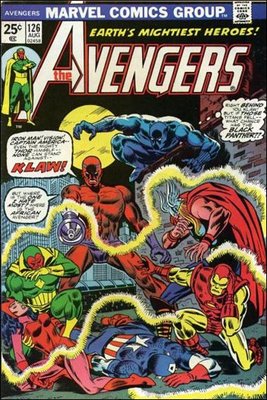 Avengers (1963) 126-A by Marvel