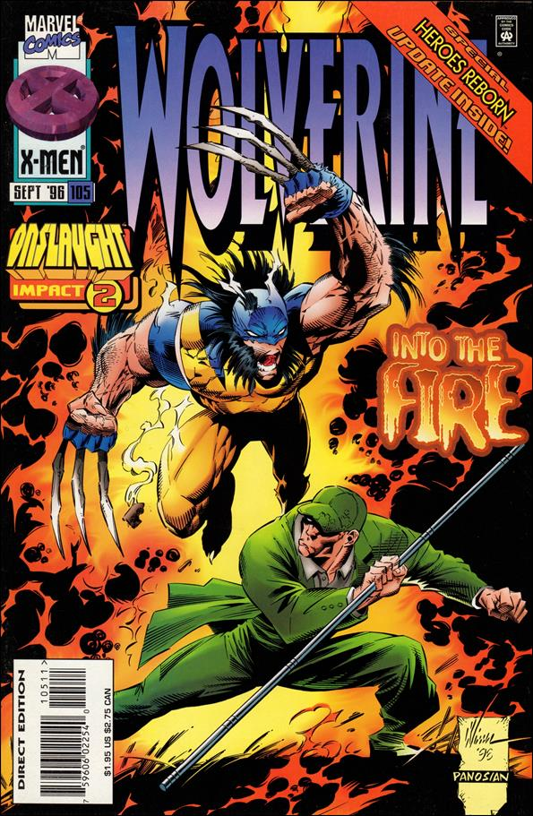 Wolverine (1988)  105-A by Marvel