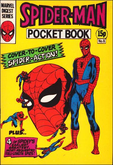 Spider-Man Pocket Book (UK) 6-A by Marvel UK
