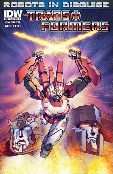 Transformers: Robots in Disguise (2012) 15-A by IDW