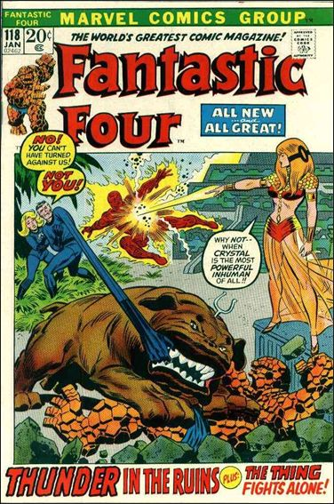 Fantastic Four (1961) 118-A by Marvel
