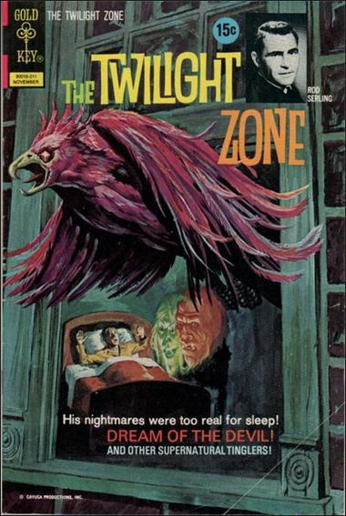 Twilight Zone (1962) 46-A by Gold Key
