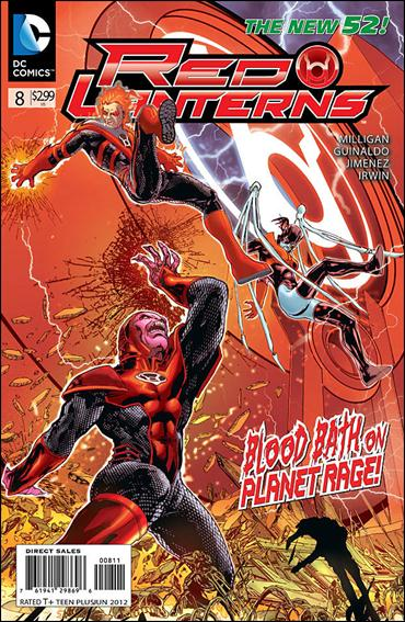 Red Lanterns 8-A by DC