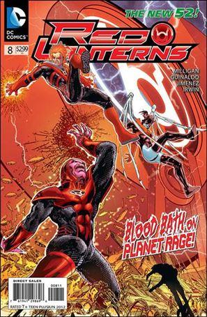 Red Lanterns 8-A