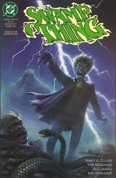 Swamp Thing (1986) 110-A by Vertigo
