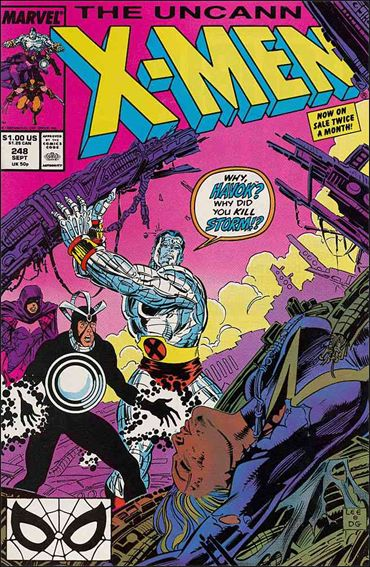 Uncanny X-Men (1981) 248-A by Marvel