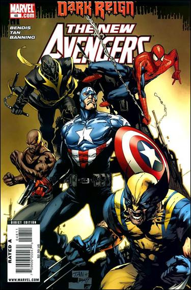 New Avengers (2005) 48-A by Marvel