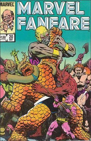 Marvel Fanfare (1982) 20-A