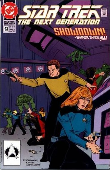 Star Trek: The Next Generation (1989) 42-A by DC