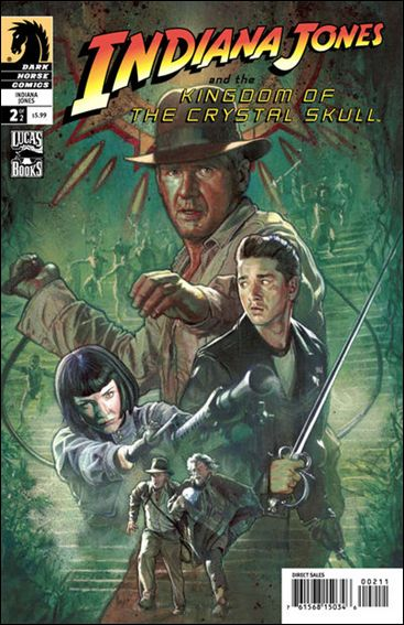 Indiana Jones and the Kingdom of the Crystal Skull 2-A by Dark Horse