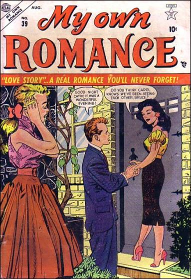 My Own Romance 39-A by Marvel