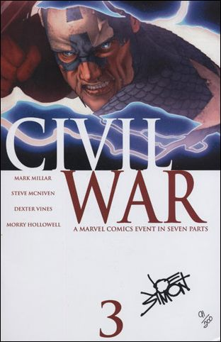 Civil War (2006) 3-F by Marvel