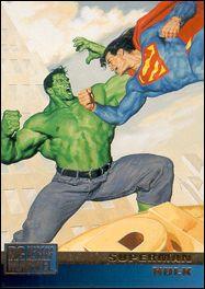DC Versus Marvel / Marvel Versus DC (Base Set) 1-A by SkyBox