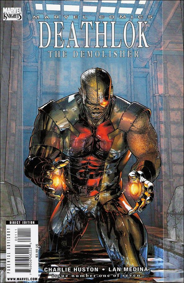 Deathlok (2010) 1-A by Marvel